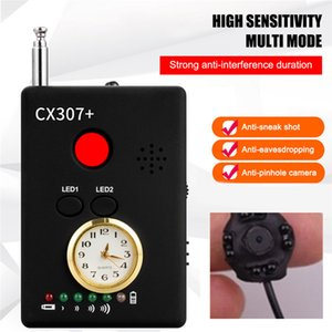 Wholesale CX307 Mini Camera Detectors Multi Functional GSM Device Finder Bug Lens Detector GPS Trackers Finder Higher Sensitivity RF Signal Detectors