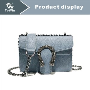 Classic Simple Chain Style Handbag Quality PU Leather Crossbody Bag Luxury Mini Designer Flap Bag Wallet Boston Bags Fashion Shoulder Bags on Sale