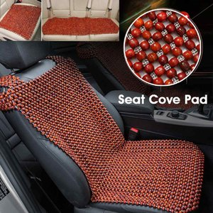 Wholesale Natural Wood Rosewood Mesh Car Auto Taxi Universal Seat Cover Cushion Cars Pad Summer Cool Breathable Pad Mat Accessories