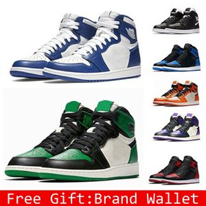 Wholesale Classic 1s 1 Banned Men Women Basketball Shoes Unisex gold shadow Chicago bred royal shattered backboard bred black toe Sneakers