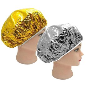 Double Suction Aluminum Foil Waterproof Ultra-thin Sets of Oil Bath Hoods Nourishing Dry Disposable Shower Cap Baking Oil Hair