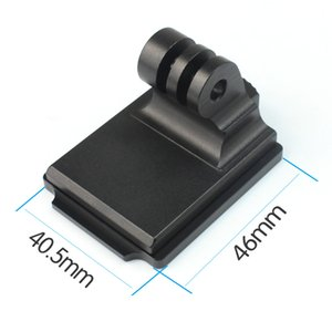 Wholesale Aluminum Helmet Fixed Mount NVG Base Holder Adapter for GOPRO Hero Session yi Sjcam EKEN Action Video Sports Cameras
