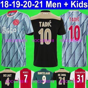 2020 2021 Ajax NERES TADIC Amsterdam 19 20 DE JONG SCHONE red soccer jerseys football shirts ZIYECH DOLBERG maillots de foot TAGLIAFICO