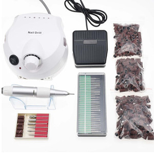 Wholesale Pro W RPM Electric Nail Drill Machine Nail Art Equipment Manicure Pedicure Files Electric Manicure Drill Accessory