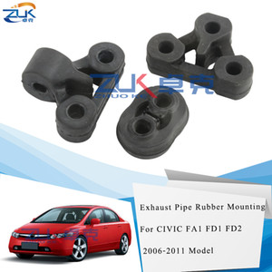 Wholesale honda civic mounts for sale - Group buy ZUK Exhaust Pipe Gasket Rubber Mounting For HONDA CIVIC FA1 FD1 FD2 OEM SNA A01 SNA A11 SNA A31