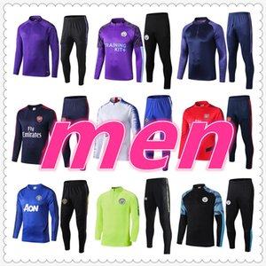 Wholesale survetement football tracksuit Survêtement de football chandal futbol soccer tracksuit football training suit jogging jacket