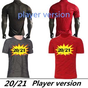 Player version POGBA GREENWOOD soccer jersey 2020 2021 LINGARD RASHFORD football shirt united UtD 20 21 uniforms man jerseys manchester