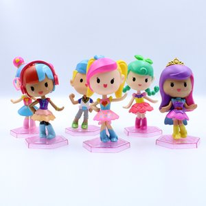 Wholesale Cake Decoration Doll Toys Games Figures CM Colorful Doll Toys Cartoon Kids Toys LT41289