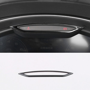 Wholesale odometer car for sale - Group buy Car Styling Dashboard Radiator Odometer Decorative Frame Cover Trim Stainless Steel For Audi A6 C8 Interior Accessories
