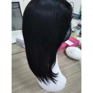 Indian Raw Virgin Hair Lace Wigs Straight 4X4 Lace Front Bob Wig Short Bob Wigs Wholesale Remy Hair