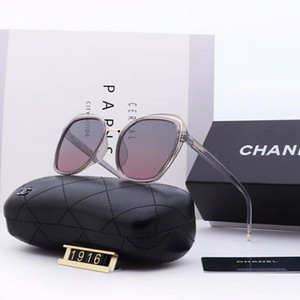 Wholesale 2018 sunglasses men s and women s brand designer metal frame unique hexagonal flat mirror cover uv400 sunglasses