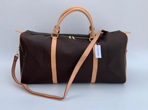 2019 new fashion men women travel bag duffle bag, brand designer luggage handbags large capacity sport bag 54CM serial number lock