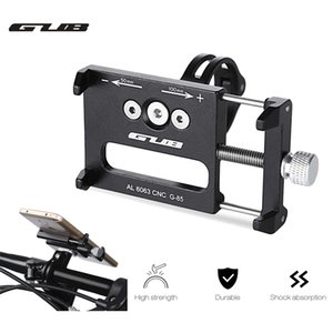 GUB G - 85 Aluminum Alloy MTB Bike Mount Bicycle 3.5-6.2inch Phone Holder Support GPS Bicycle Handlebar Bike Phone Mount Cycling Holder