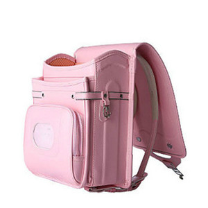 Orthopedic School Bag Children Backpack For Boy And Girl For Kid PU Hasp Japan Randoseru Kid Bag Love Necklace 2018 New