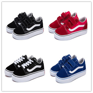 New Children Sneaker 2019 New Spring Children's shoes Boys Girls Sports shoes Fashion Kids Jean Canvas Casual