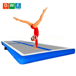 Wholesale Free Pump m m m Promotional Inflatable Air Tumble Track Inflatable Gym Mat Inflatable Air Track For Sale