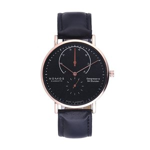 Wholesale Luxury DZ Women Sports NOMOS Watch Men Steel Automatic Movement Watches Rose Gold Case Steel Mesh Leather mens DWELLERS Wristwatch