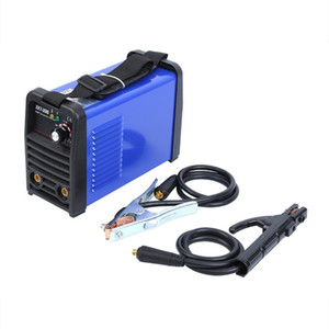 usinagem de soldagem venda por atacado-200A IGBT SOLDADOR INVERTER MMA ARC Welder Rod Welding Machine AMP soldadura do inversor MMA ARC Household soldador ZX7 IGBT portátil