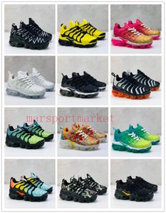 2019 Kids Plus Tn Children Parent Child Casual Shoes For Baby Boy Girl Fashion Designer Sneakers White Running Outdoor Trainer Shoe 24-35 on Sale