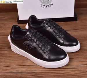 Liujingang9 black Cowhide embossing Four seasons shoes Men Dress Shoes Moccasins Loafers Lace Monk Straps Boots Drivers Real leather