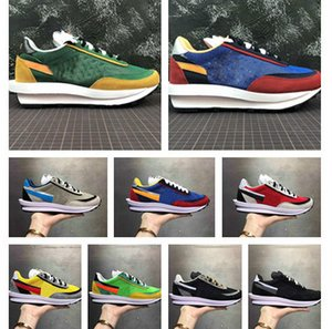 Wholesale 2019 Discount LDV Black School Flower Green Blue New Men s and Women s Fashion Casual Shoes