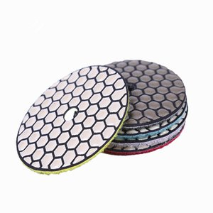 Wholesale stone grinder resale online - Diamond Flexible Dry Polishing Pad Inch D100mm Buffing Pads Stone Polishing Wheel Dry Polishing Disc for Angle Grinder