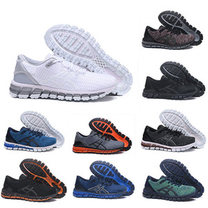 Top Quality Running Shoes Gel-Quantum 360 mens shoes Weaves Vamp black white red blue women sports trainers sneakers Hot selling