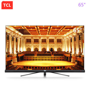 TCL 65-inch star screen full screen harman kardon sound full ecological HDR+4K artificial intelligence ultra hd TV free shipping! on Sale