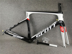 Wholesale 2019 New color Foil UD Glossy full carbon Road Bike Frame PF30 DI2 and Mechanical both