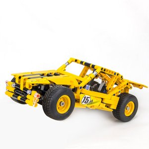 Wholesale Mechanical blocks cars children s assembly toys