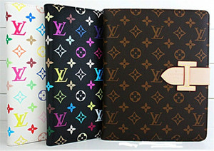 Wholesale For iPad mini Luxury Designer Leather Wallet Stand Flip Smart Cover for New Ipad Brands Case for ipad Air