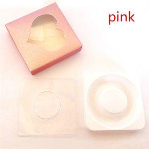 3D Mink Eyelash Package Boxes False Eyelashes Love shape Packaging Empty Eyelash box Case Lashes Box paper packaging 120 sets