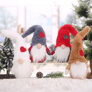 Wholesale Christmas Cute Gnome Faceless Doll Toy Hanging Pendant Party Trees Ornament hot sales