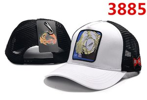 Hot Cool hats Dragon Ball anime character pictures High quality luxury Mesh adjustable baseball cap Men and women caps snapback Student hats