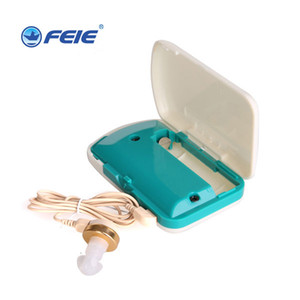 Pocket Hearing Aid Answer Phone Earphone Cheap Hearing Amplifier Sound Ear Care Health for Deafness Wire Earplugs S-7B