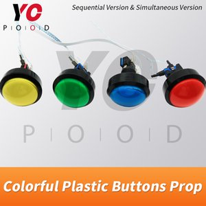 Colorful Plastic Buttons Escape Room Prop Suppliers Press plastic buttons in sequence or at the same time to unlock YOPOOD