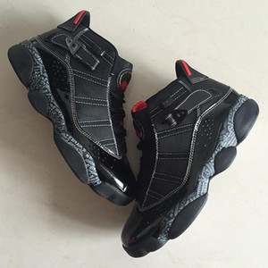 Wholesale ring toes resale online - Hot Sale Cheap Top Quality Six Rings Boots Shoes New Arrival Men s Jumpman VI Black Red Designer Comfortable Size