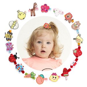 Wholesale Baby BB clips cute kids barrettes designer girls hair clips embroidery butterfly girls hairclips hair accessories for girls A5879