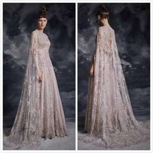 Aso Ebi 2019 Arabic Luxurious Sparkly Sexy Evening Dresses Lace Beaded Sequins Prom Dresses Vintage Formal Party Second Reception Gowns ZJ32 on Sale