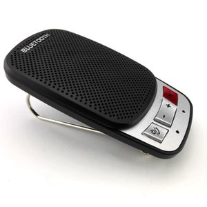 Wholesale Wireless Bluetooth Hands Free Car Auto Kit Speakerphone Speaker Phone Visor Clip