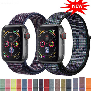 Wholesale Creative Knitting Strap For Apple Watch Band Apple Watch iWatch Band mm mm mm mm Correa Bracelet Sport Loop Watch Product