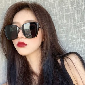 Wholesale Sunglasses Womens New Fashion Street Shoot Big Box Ins round Face Was Thin Korean Version of the Retro Network Red Sun Glasses