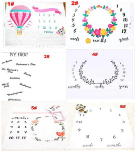 Wholesale 15 Styles newborn photography background props baby photo prop fabric backdrops easter infant blankets wrap letter blanket ins cloth mat kid