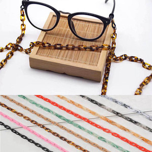 70cm Finished Glasses Acrylic Chains 8*14mm Cord Fashion Styles Eyewear Lanyard Strap Necklace Reading Eyeglass Accessories