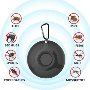 Wholesale ultrasonic electronic pest cockroaches for sale - Group buy Portable Electronic Mosquito Repeller Keychain Ultrasonic Mosquito Killer Fly Insect Bug Cockroach Spider Pest Repellent For Home Outdoor