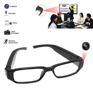 Wholesale Eyewear Camera DVR Hidden Spy Video Glasses HD Frame Half Recorder Camera