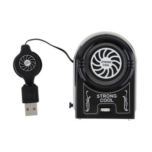 Wholesale Hot sale Mini Flexible Vacuum Air Extracting USB Cooler Cooling Fan for Notebook Laptop Accessories Computer Peripheral Free Drop Ship