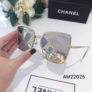 Wholesale 2019Top Quality New Fashion Sunglasses For Man Woman Erika Eyewear Designer Brand Sun Glasses Matt Leopard Gradient UV400 Lenses Box and