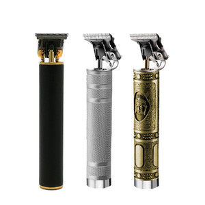 Kemei Hair Trimmer Rechargeable Electric Barbershop Hair Clipper Cordless 0mm T-blade baldheaded Outliner Finishing Hair Cutter