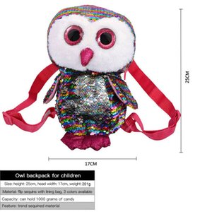 Wholesale Small Backpack New Christmas Candy Bag Santa Claus Gift Bag Children Storage Owl Backpack by